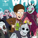 DOCTOR WHO THE ELEVENTH DOCTOR YEAR THREE #3 COVER C BY MARC ELLERBY LINKED COVER
