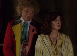 The Doctor and Peri - Doctor Who - The Trial of the Time Lord - The Mysterious Planet
