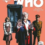 DOCTOR WHO THE THIRD DOCTOR #5 COVER A BY ANDY WALKER