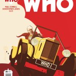 DOCTOR WHO THE THIRD DOCTOR #5 COVER C BY BRIAN MILLER AND HI-FI