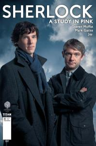 SHERLOCK: A STUDY IN PINK #3 COVER B PHOTO