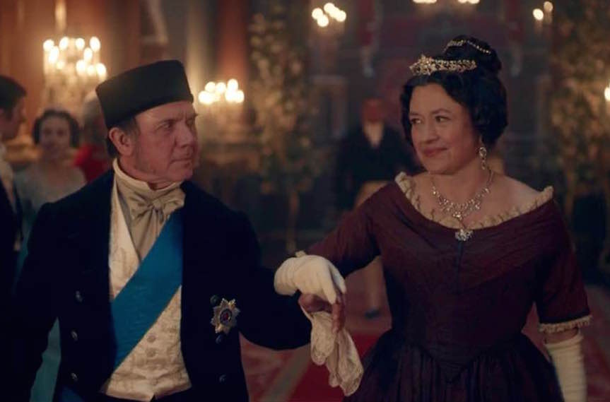Duke of Sussex (DAVID BAMBER) and Lady Cecilia Buggins (DAISY GOODWIN