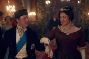 Duke of Sussex (DAVID BAMBER) and Lady Cecilia Buggins (DAISY GOODWIN) - Victoria Episode 6 (ITV)