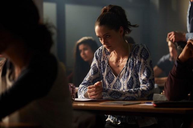 Class - Ep4 (No. 4) - Picture Shows: April (SOPHIE HOPKINS) - (C) BBC - Photographer: Simon Ridgeway