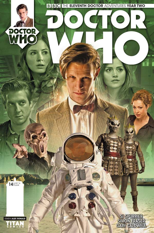 TITAN COMICS - ELEVENTH DOCTOR #2.14 COVER B PHOTO BY WILL BROOKS