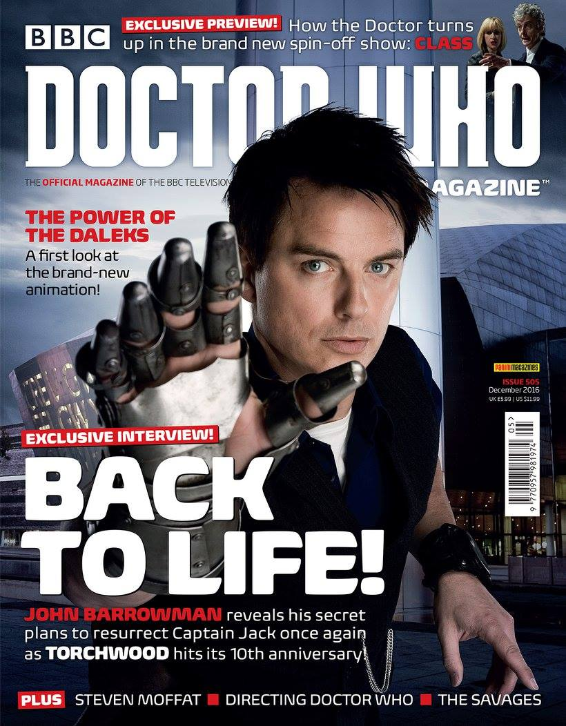 Doctor Who Magazine Issue #505
