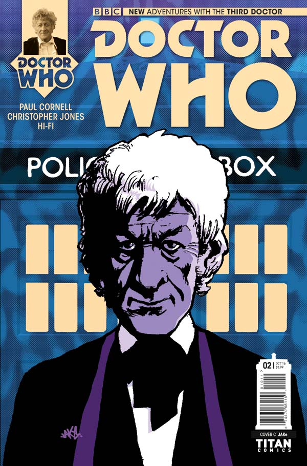 Doctor Who: Third Doctor #2 Cover C by JAKe