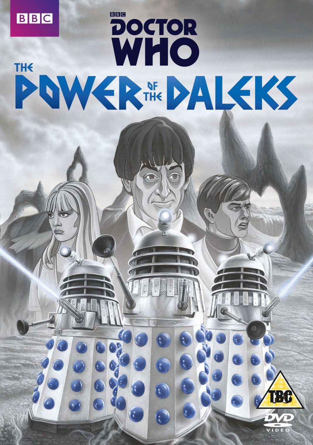 The Power of the Daleks Official Artwork (c) BBC