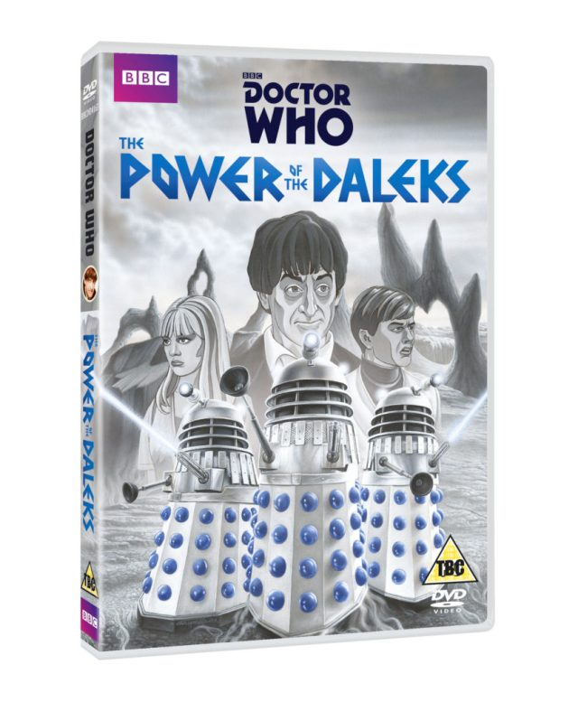 The Power of the Daleks DVD Cover (c) BBC
