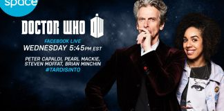 Peter Capaldi and Pearl Mackie Space Channel Q&A