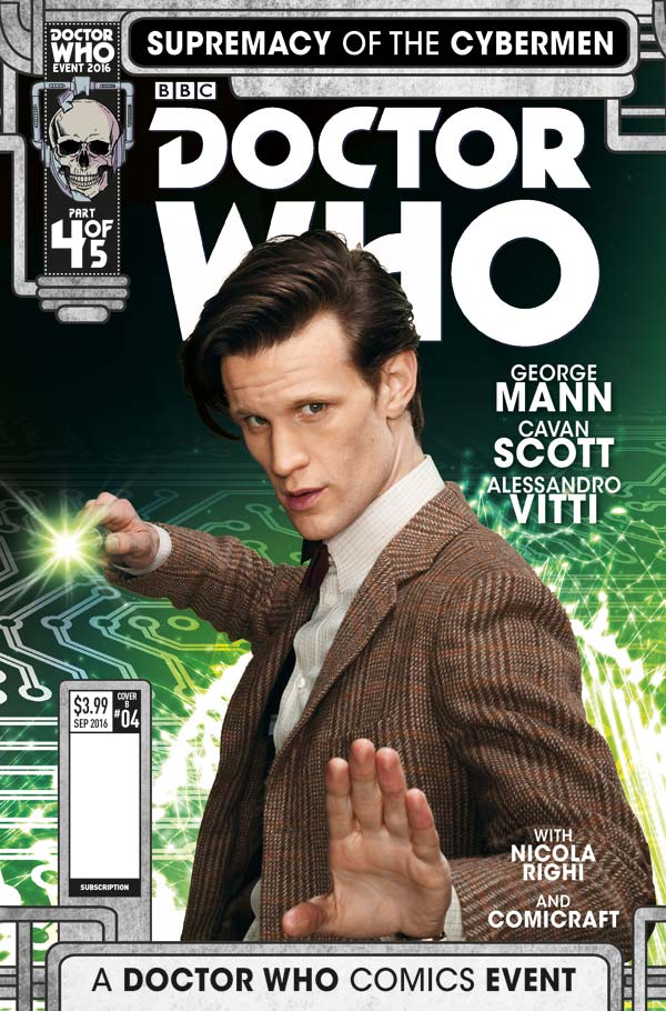 SUPREMACY OF THE CYBERMEN #4 COVER B PHOTO