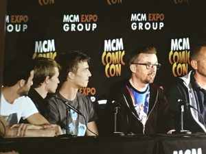 Class Panel - MCM Comic Con London Photo Rebecca Kurson