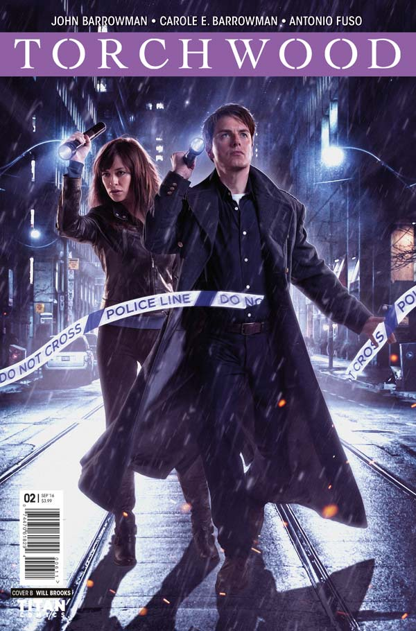 Torchwood #2 Cover B Photo by Will Brooks