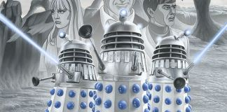 Doctor Who: the Power of the Daleks - Artwork by Colin Howard