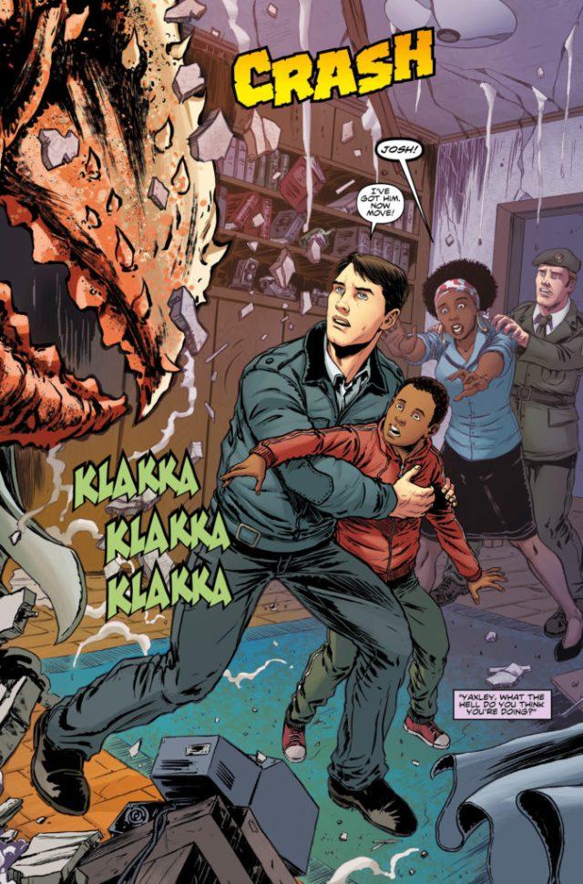 TITAN COMICS - NINTH DOCTOR #7 PREVIEW 1