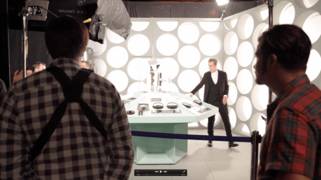 Behind the Scenes of New Doctor Who Experience