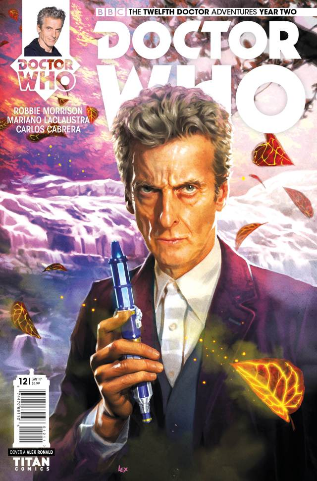 TITAN COMICS - TWELFTH DOCTOR #2.12 Cover A: ALEX RONALD