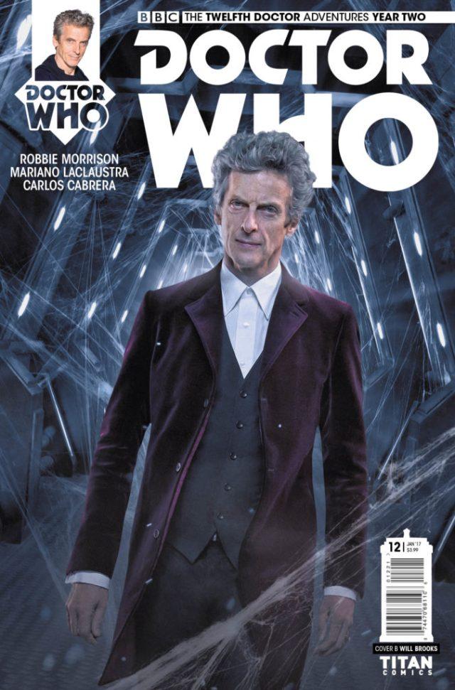 TITAN COMICS - TWELFTH DOCTOR #2.12 Cover B: WILL BROOKS