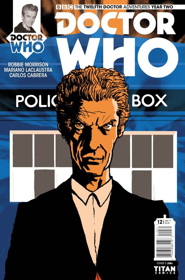 TITAN COMICS - TWELFTH DOCTOR #2.12 Cover C: jaKE