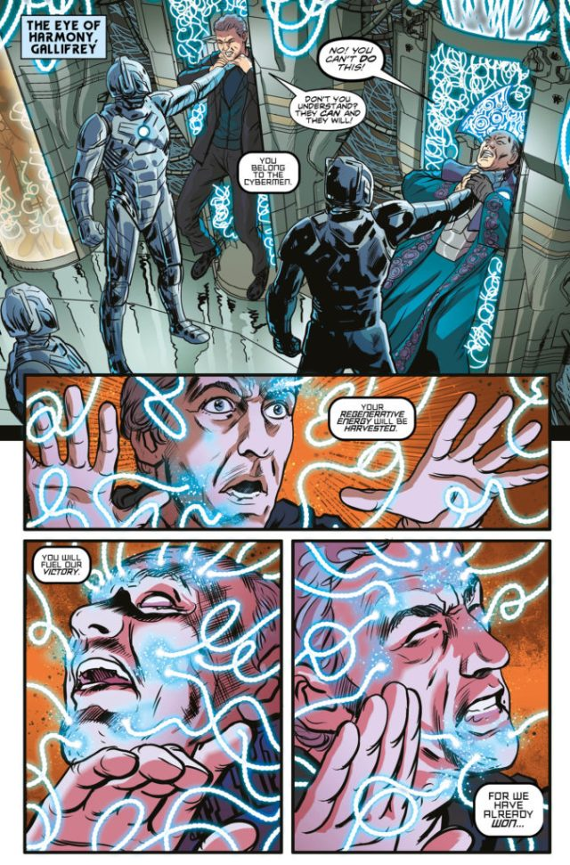 TITAN COMICS - DOCTOR WHO: SUPREMACY OF THE CYBERMEN #5- Preview 1