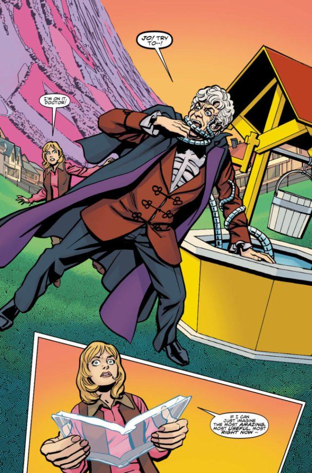 TITAN COMICS - THIRD DOCTOR PREVIEW 1