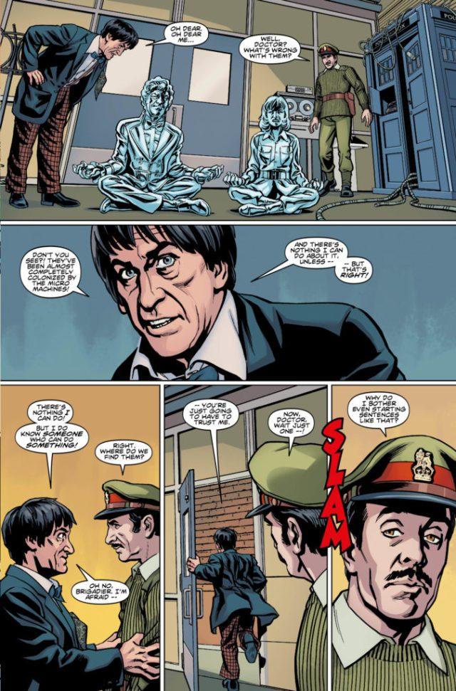 TITAN COMICS - THIRD DOCTOR PREVIEW 3
