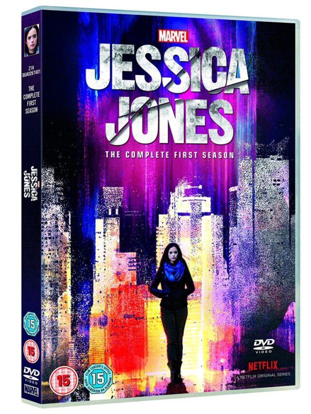 Marvel's Jessica Jones UK DVD Cover