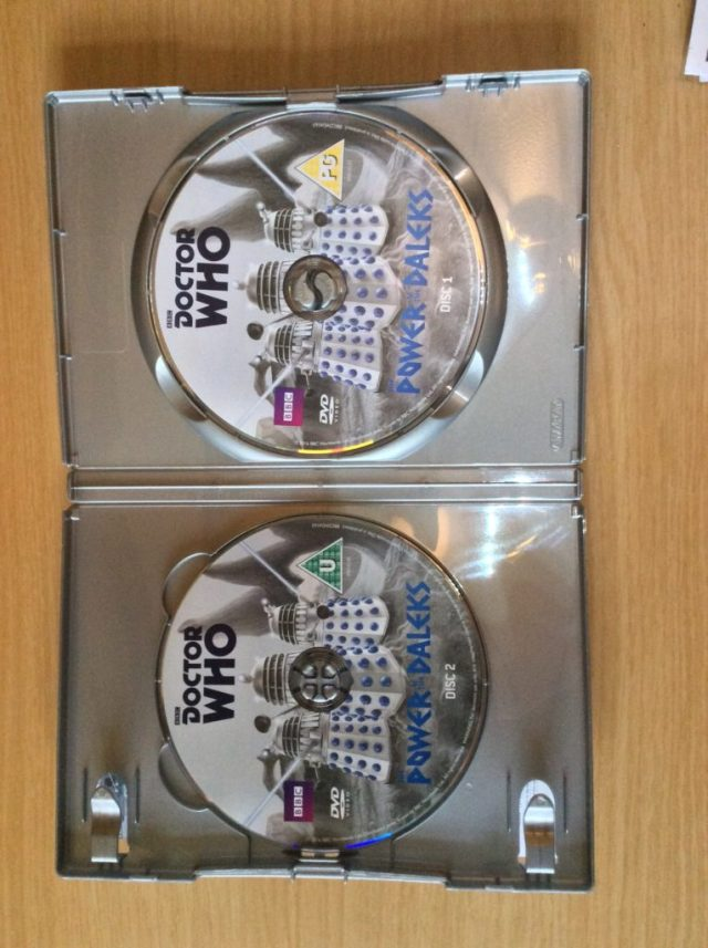 THE POWER OF THE DALEKS 2 DISC DVD's