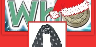 12 Days of Christmas Giveaway - Grey Dalek Scarf (c) Lovarzi