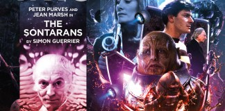 BIG FINISH - DOCTOR WHO - THE EARLY ADVENTURES - THE SONTARANS COVER CREATED BY TOM WEBSTER