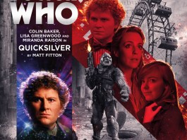 BIG FINISH DOCTOR WHO - QUICKSILVER - COVER ART BY SIMON HOLUB