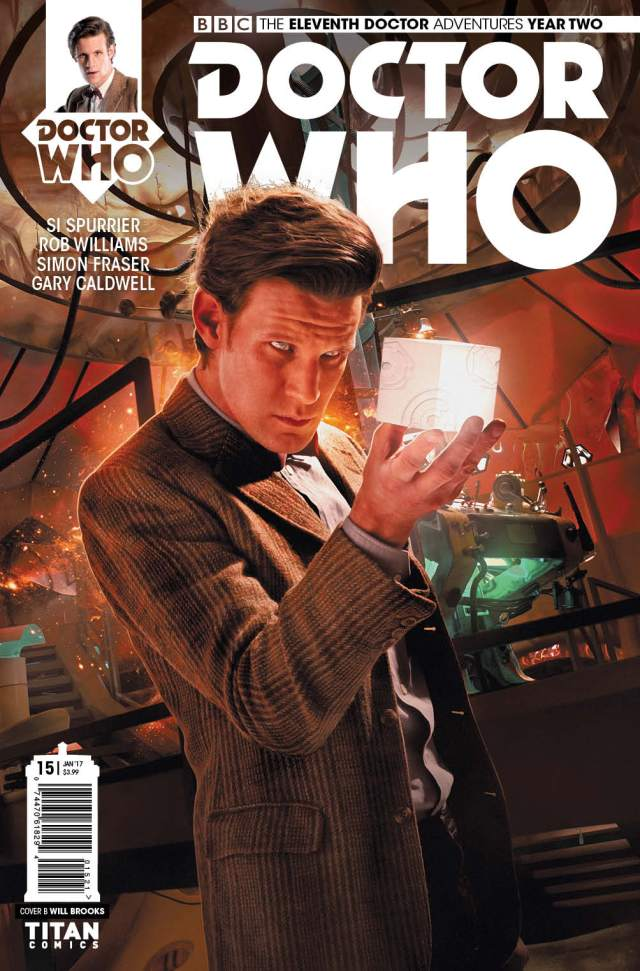 TITAN COMICS - ELEVENTH DOCTOR #2.15 COVER B BY WILL BROOKS