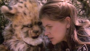 Ace (SOPHIE ALDRED) - Karra (LISA BOWERMAN) - Doctor Who - Survival: Part Three (c) BBC