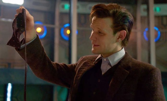 Matt Smith as The Doctor - BBC The Time of The Doctor - (c) BBC