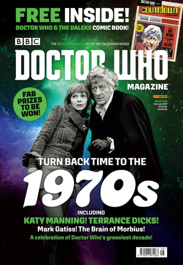 Doctor Who Magazine Issue #508