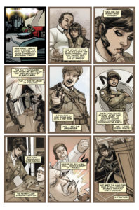 TITAN COMICS - NINTH DOCTOR #8 PREVIEW 1