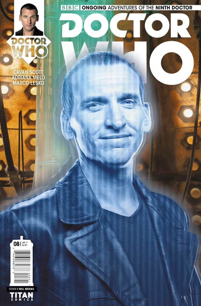 TITAN COMICS - NINTH DOCTOR #8 COVER B WILL BROOKS