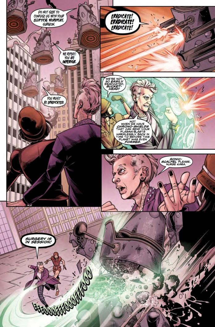 TITAN COMICS - DOCTOR WHO TWELFTH DOCTOR #2.14 - PREVIEW 2
