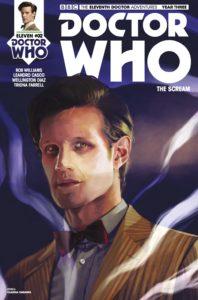 TITAN COMICS - DOCTOR WHO: ELEVENTH DOCTOR #3.2 - COVER A: Claudia Caranfa
