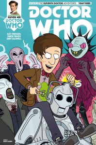 TITAN COMICS - DOCTOR WHO: ELEVENTH DOCTOR #3.3 - COVER C: Marc Ellerby