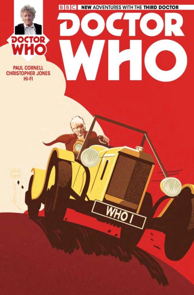 TITAN COMICS - DOCTOR WHO: THIRD DOCTOR #5 - COVER C: Brian Miller & Hi-Fi