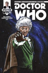 TITAN COMICS - DOCTOR WHO: THIRD DOCTOR #5 - COVER D: Carolyn Edwards
