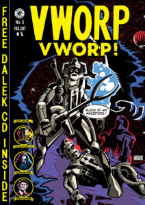 Vworp Vworp! Volume 3 - BLACK LEGACY cover by Adrian Salmon