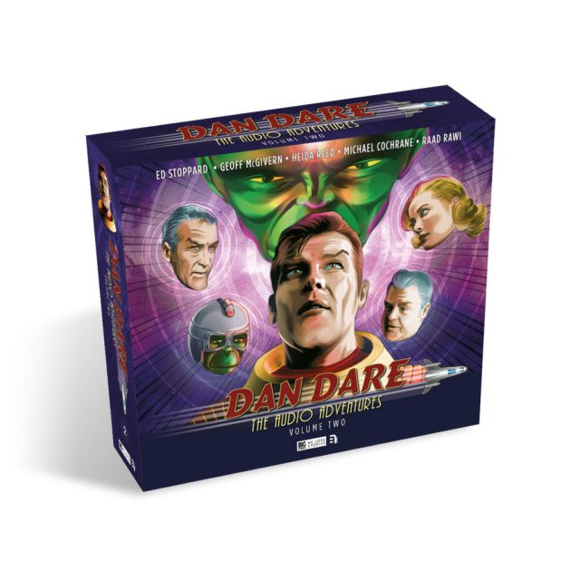 BIG FINISH - DAN DARE VOL 2 SLIP COVER