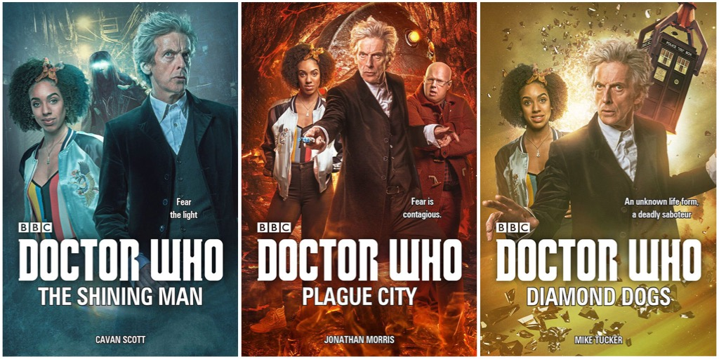 New Doctor Who Books (c) BBC Books
