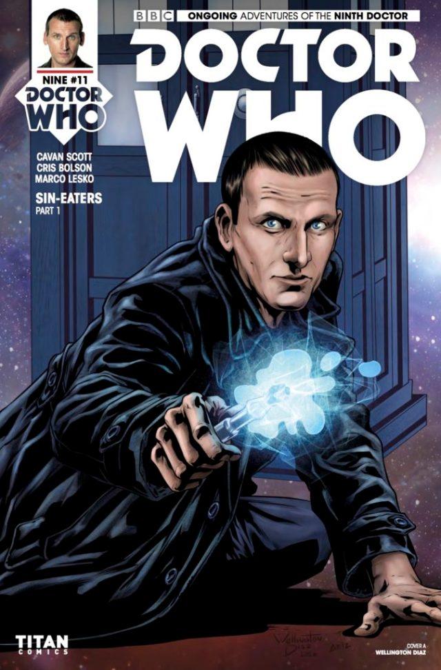 TITAN COMICS - DOCTOR WHO 9TH DOCTOR #11 Cover A: Wellington Diaz