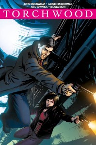 TORCHWOOD: STATION ZERO #2 - COVER C: BRIAN WILLIAMSON