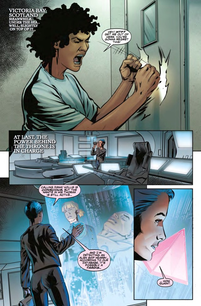 TORCHWOOD: STATION ZERO #2 - PREVIEW 2