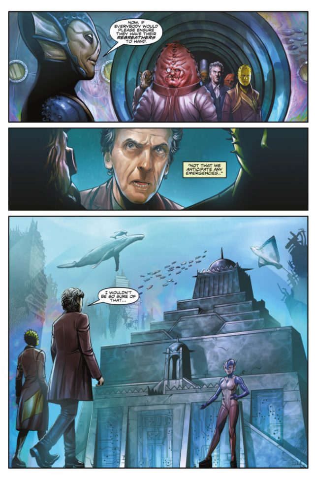 TITAN COMICS - DOCTOR WHO: TWELFTH DOCTOR YEAR THREE #1 - PREVIEW 2