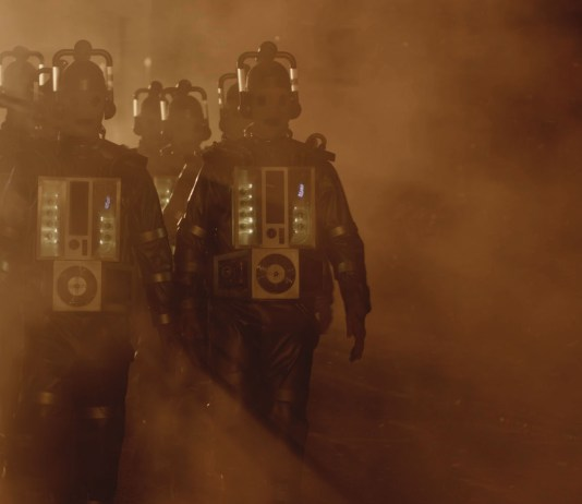 Doctor Who S10 - Picture Shows: Mondasian Cybermen - (C) BBC - Photographer: screen grabs